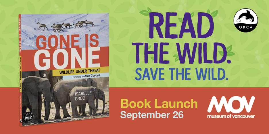 BOOK LAUNCH: GONE IS GONE