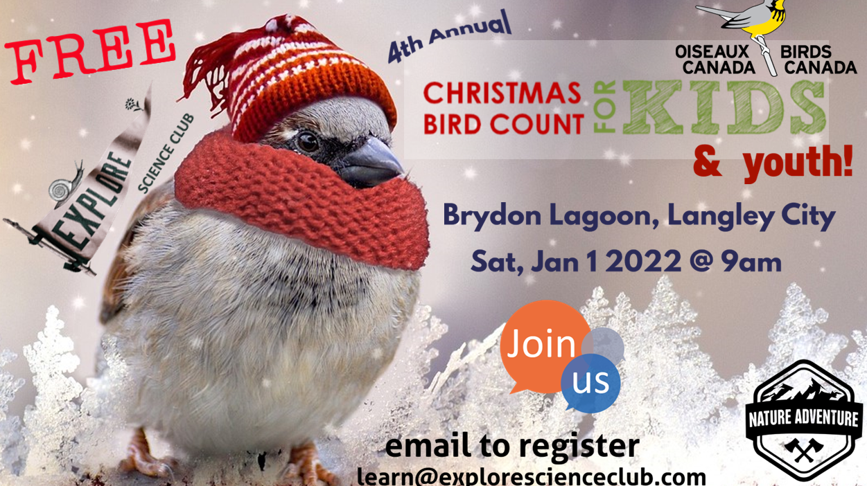 LANGLEY – Christmas Bird Count for Kids
